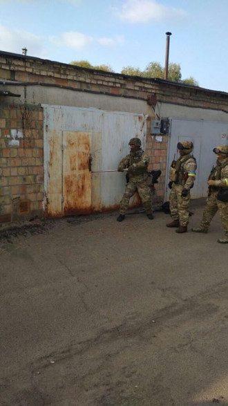 У сторонника Семенченко изъяли арсенал