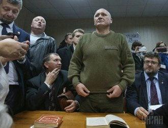 Коханивский в зале суда