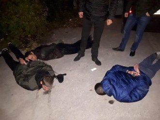 Задержание группы злоумышленников в Запорожье.