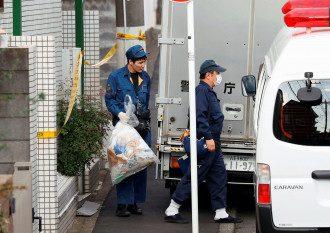 Правоохранители возле места происшествия