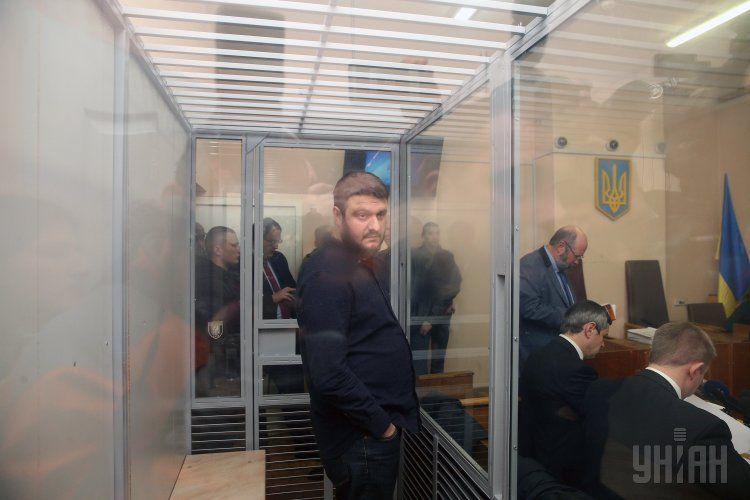 Александр Аваков в зале суда