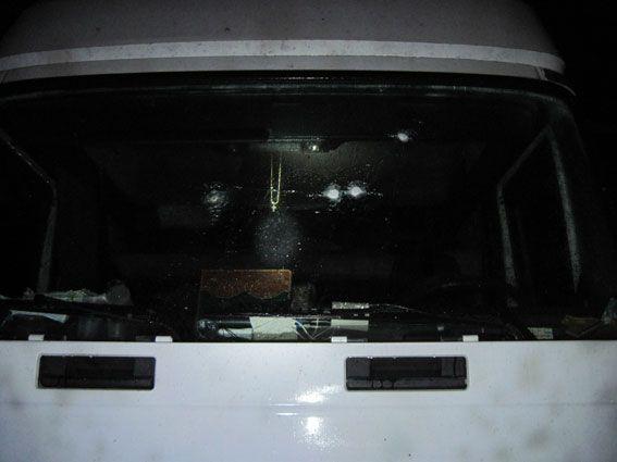 Разбой со стрельбой. На Черниговщине бандиты отобрали у водителя грузовика сейф с деньгами