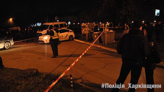 В Харькове киллер расстреляли водителя Audi
