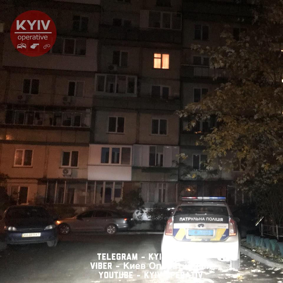 В Киеве нашли погибшего мужчину