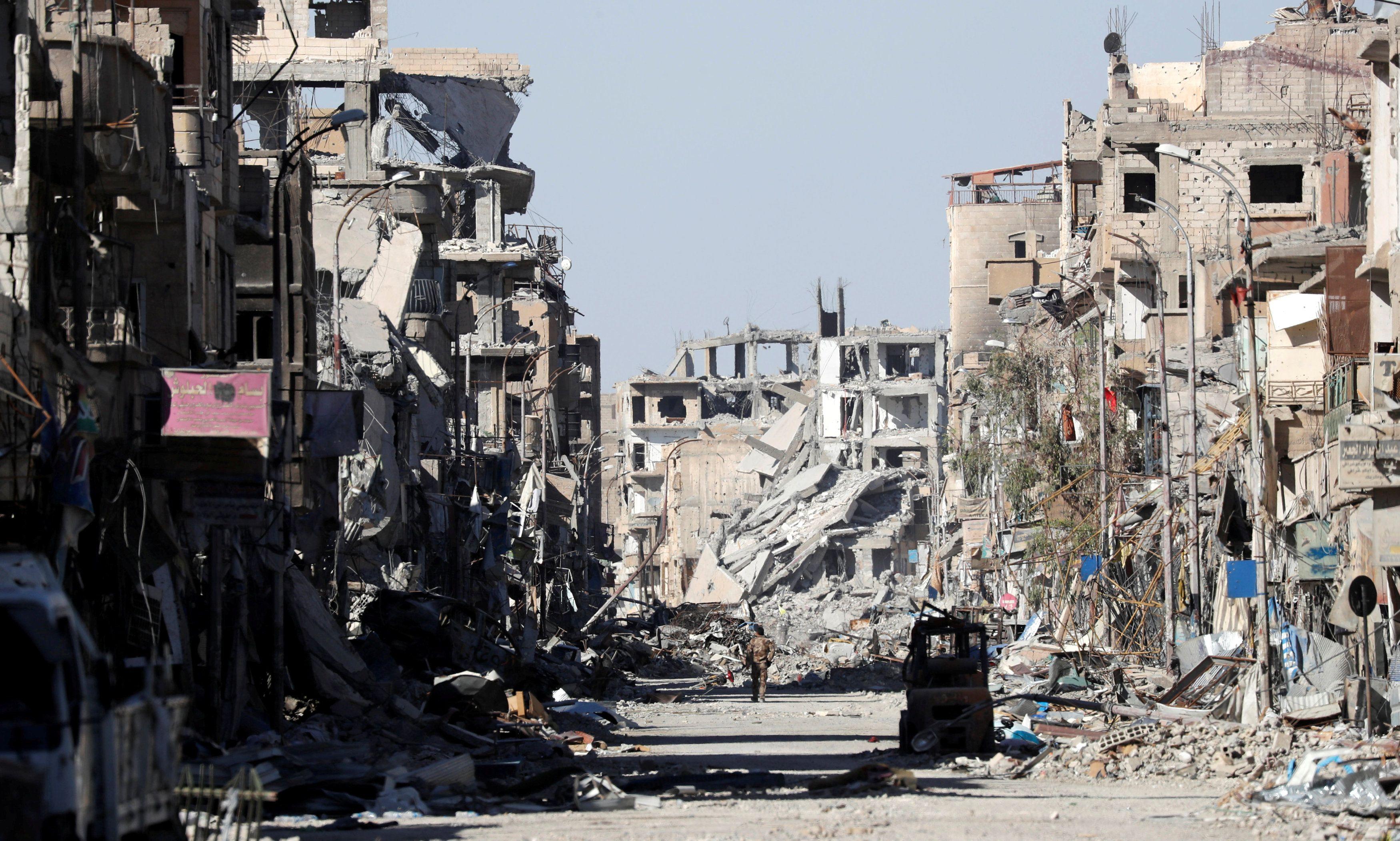 Разрушения в Сирии, иллюстрация