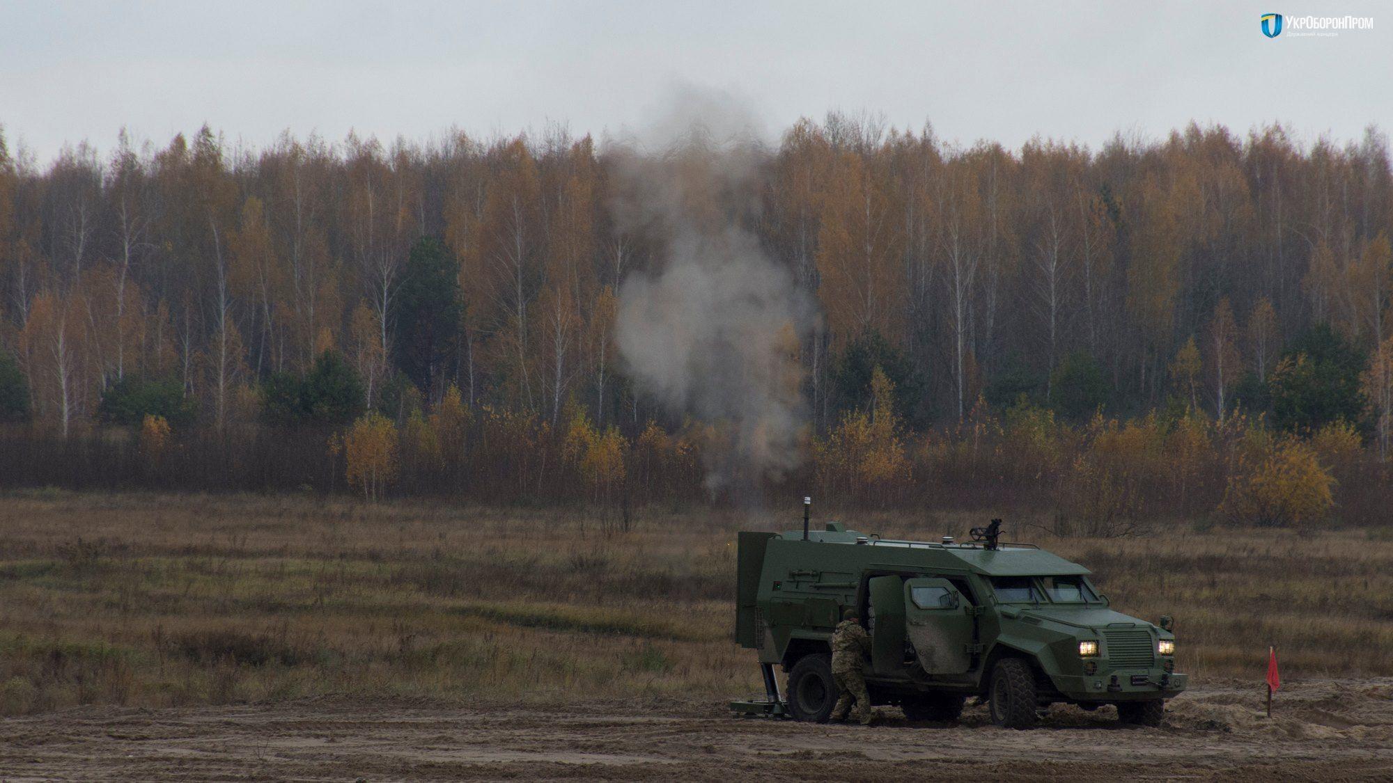 В Украине испытали минометный комплекс