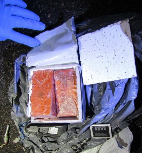 Силовики изъяли самодельное взрывное устройство