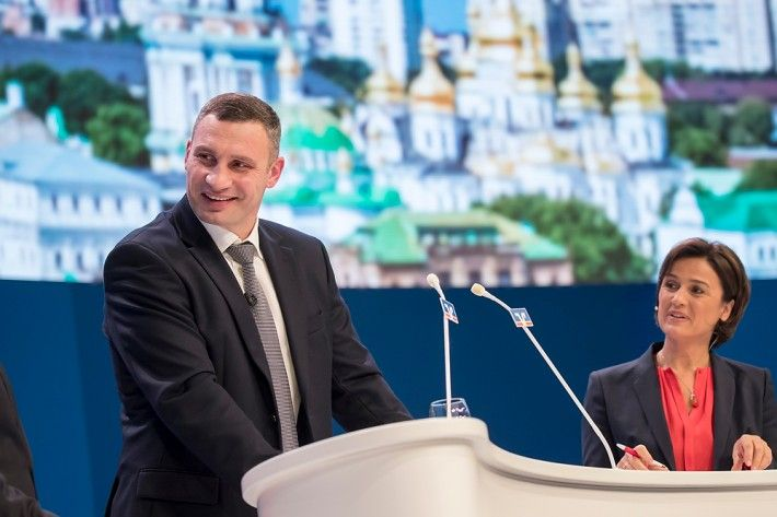 Кличко в Франкфурте рассказал о реформах