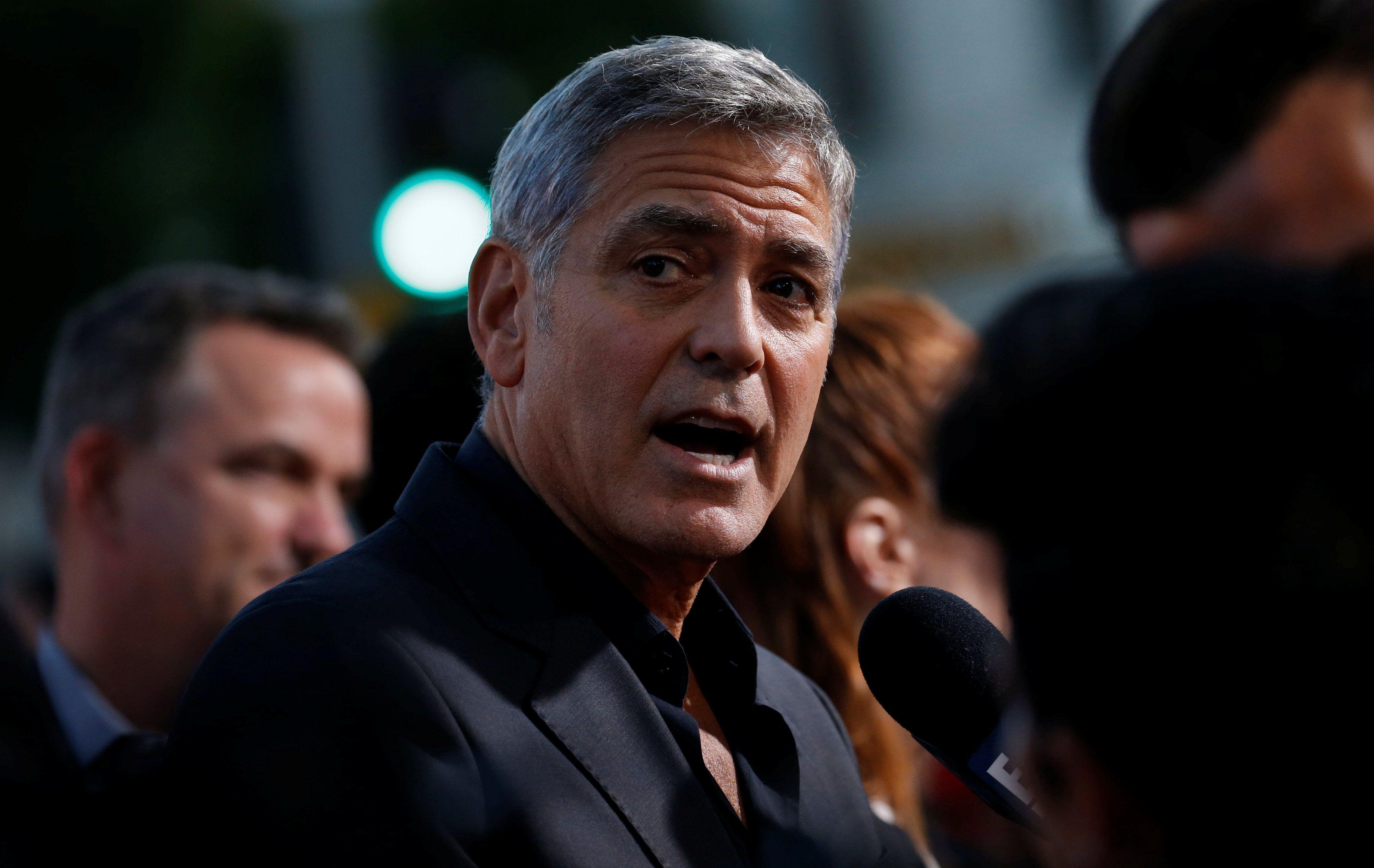 Клуни попал в ДТП