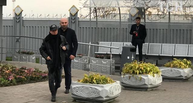 Рокеров приняли в VIP-терминале