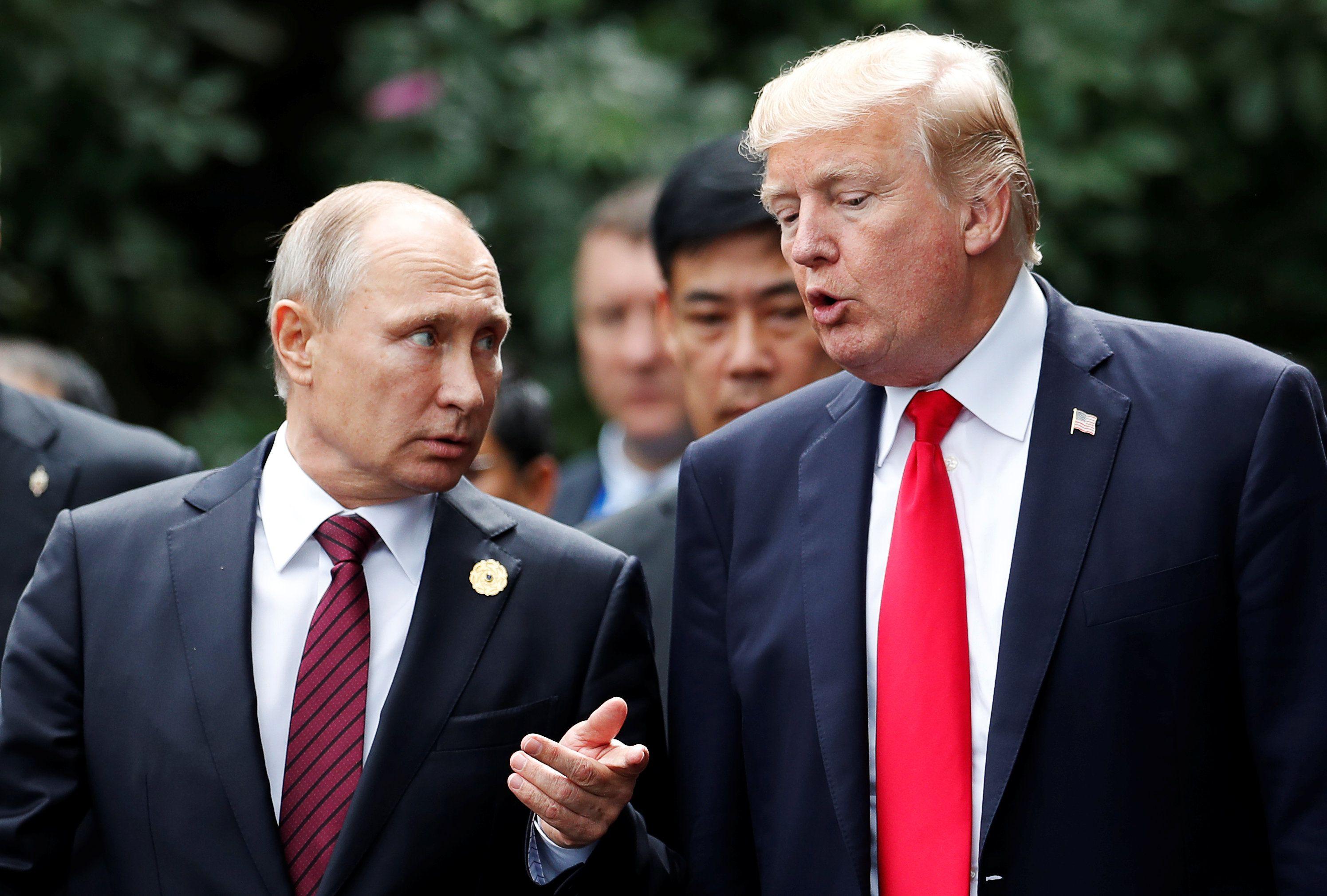 Путін, Трамп