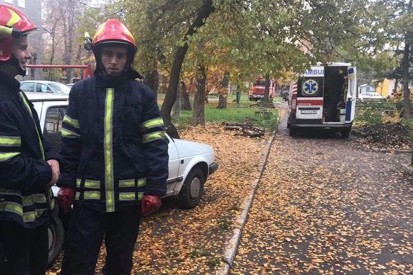 В Черкассах прогремел взрыв в жилом доме