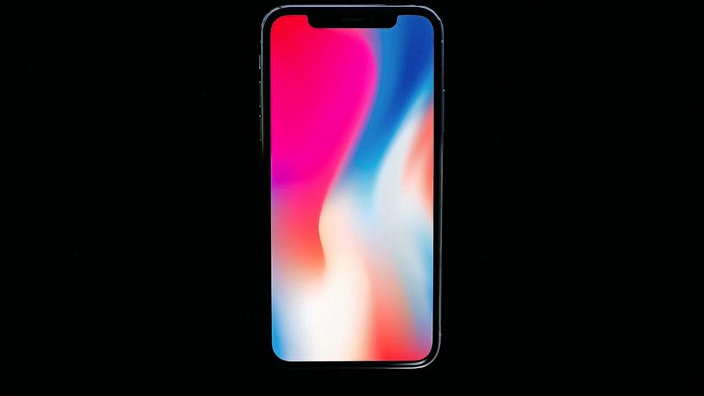 iPhone X имеет безрамочный дисплей