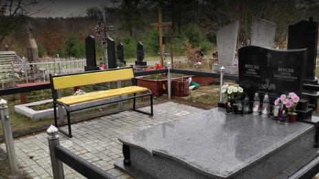 Кладбище на Львовщине
