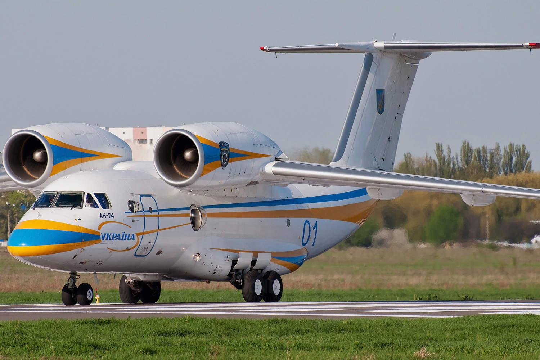 Самолет Ан-74 украинского производства