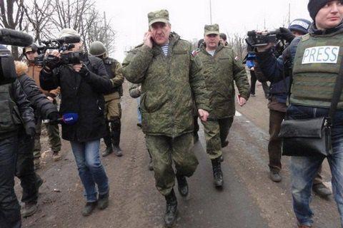 Российские офицеры в СЦКК