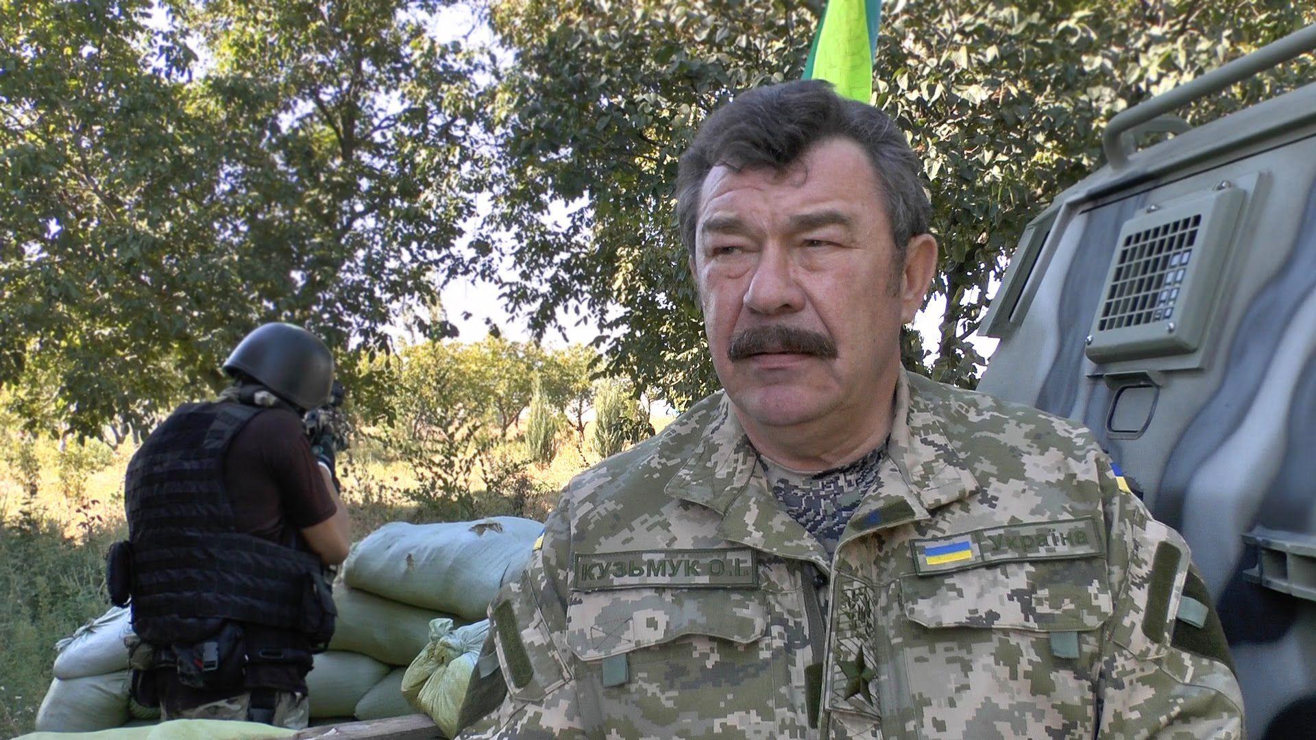 Генерал армии Украины Александр Кузьмук