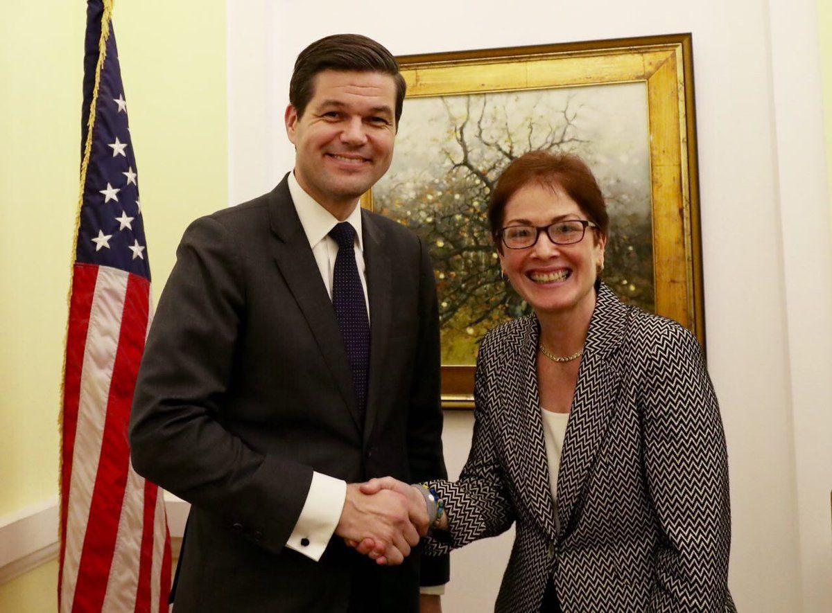 В Киев прибыл помощник Тиллерсона