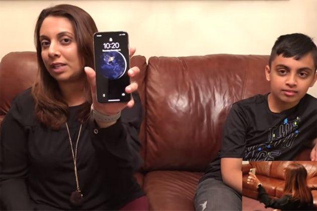 В США 10-летний ребенок взломал родительский iPhone X
