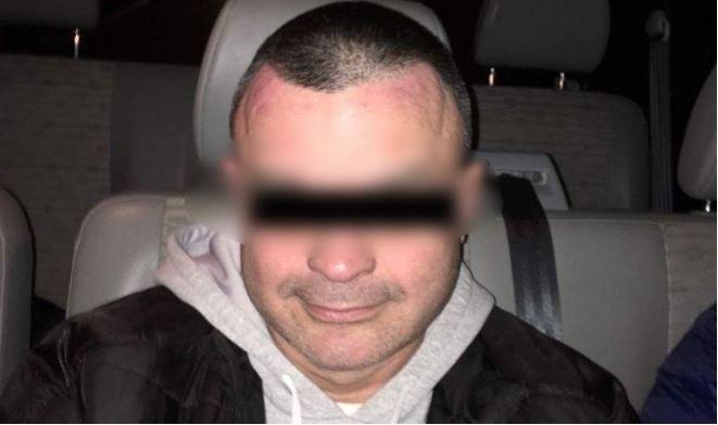 Задержаный организатор ограбления банка.