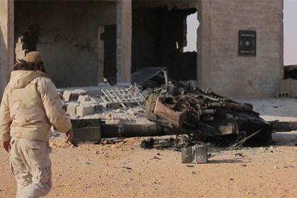В Сирии уничтожили новейший российский Т-90