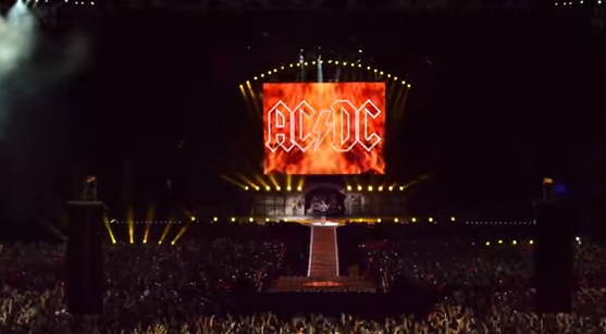 Концерт AC/DC, иллюстрация