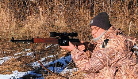 Леонид Кравчук на охоте