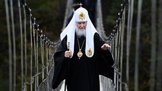 Патриарх Кирилл заявил в эфире болгарского ТВ, что на Донбассе идет