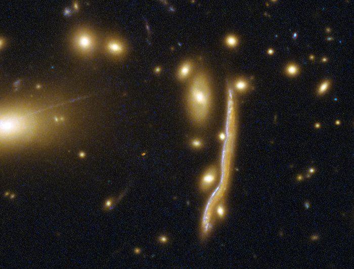 Фотоснимок галактики-
