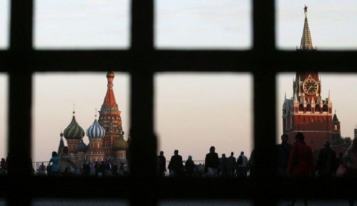 Кремль, решетка, Красная плошадь