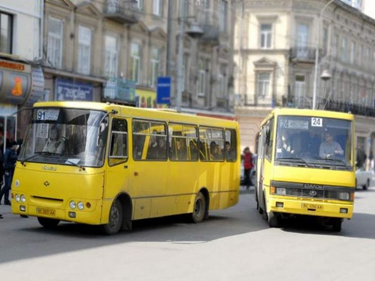 Львовские маршрутки
