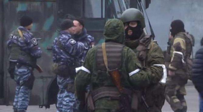 Украинские военные попали в засаду врага на Луганщине