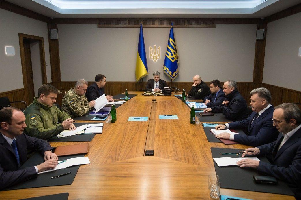 Порошенко и СНБО заседали по Луганску