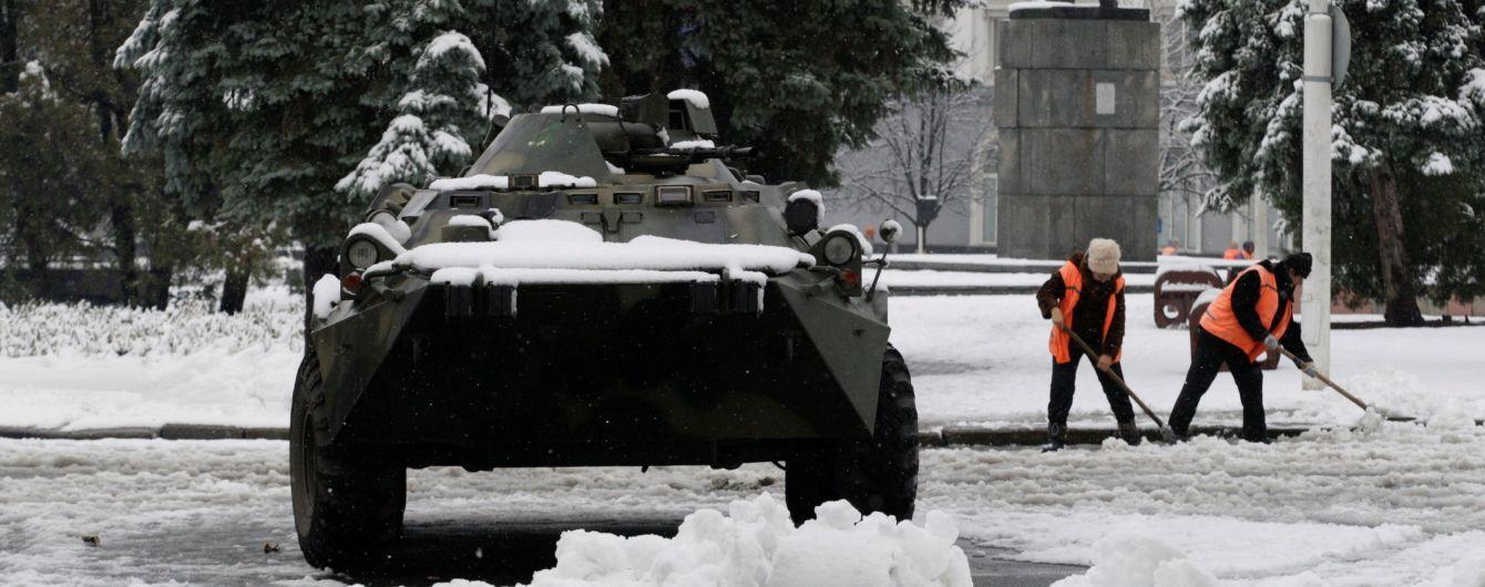 В Луганске боевики частично освободили центр города