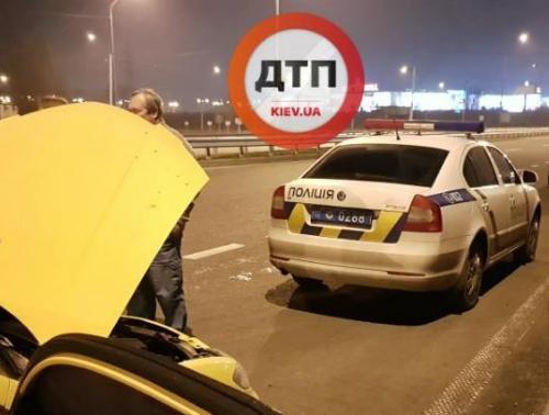 Злоумышленников остановили три авто правоохранителей