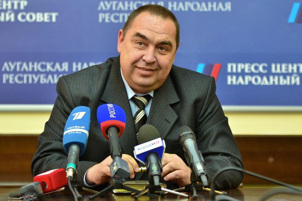 Игорь Плотницкий в бытность главарем