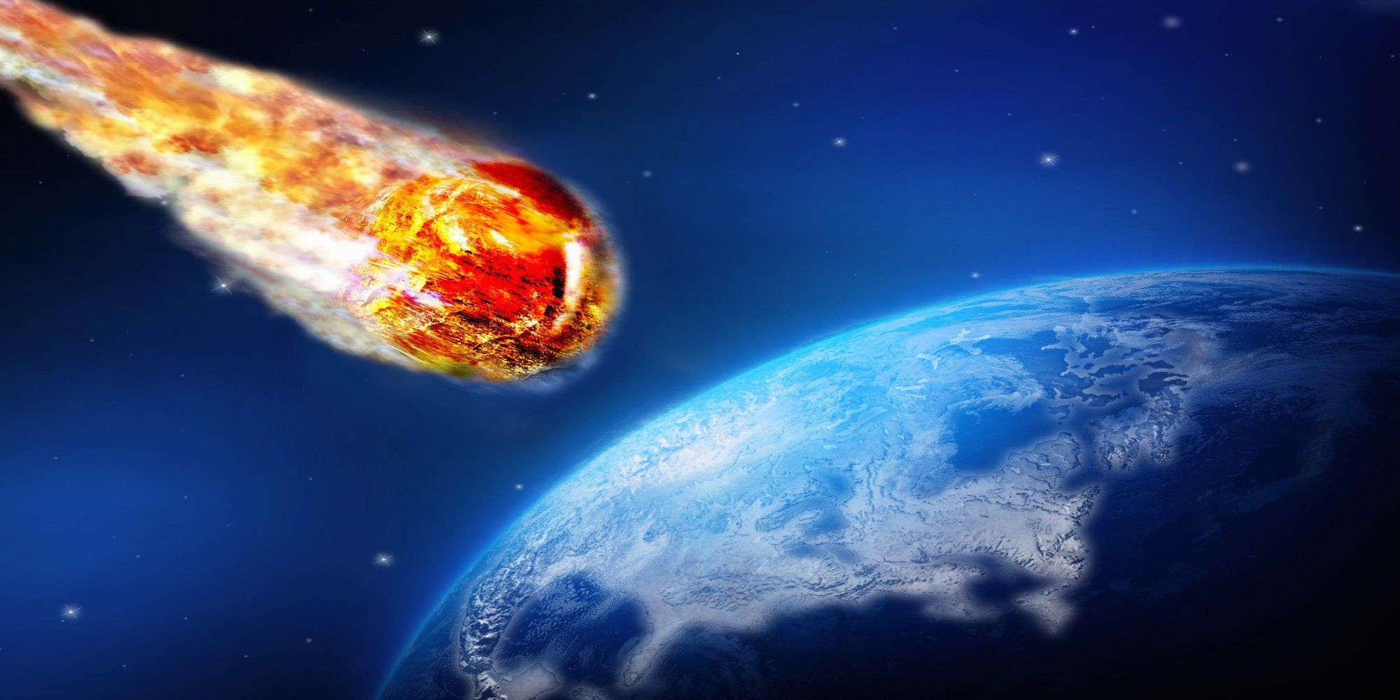 asteroids earth collision - HD 2000×1000