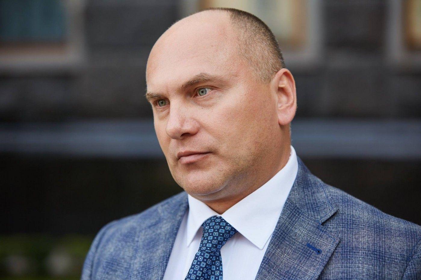 Глава Фонда госимущества Виталий Трубаров