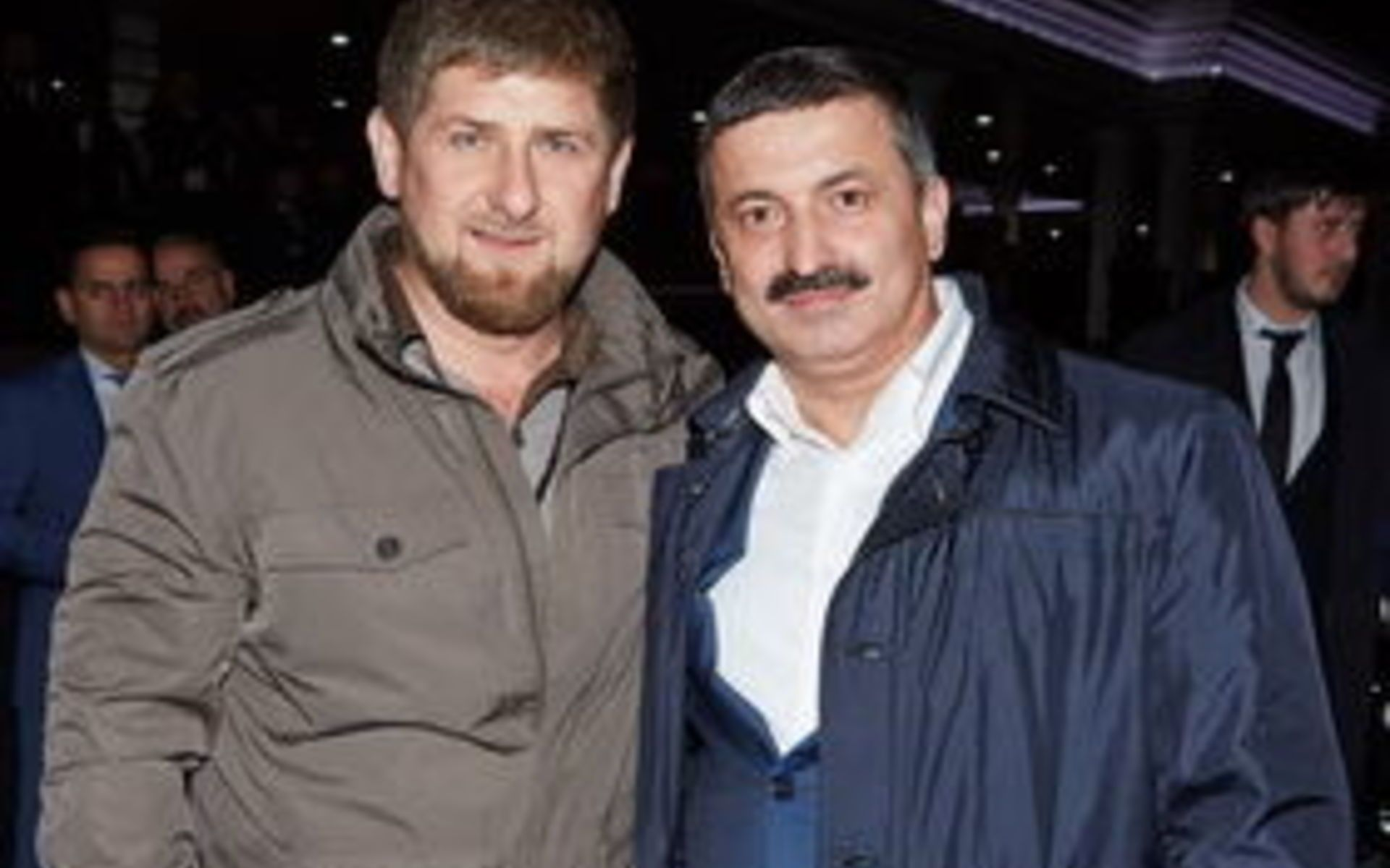 Рамзан Кадыров и Рамзан Цицулаев
