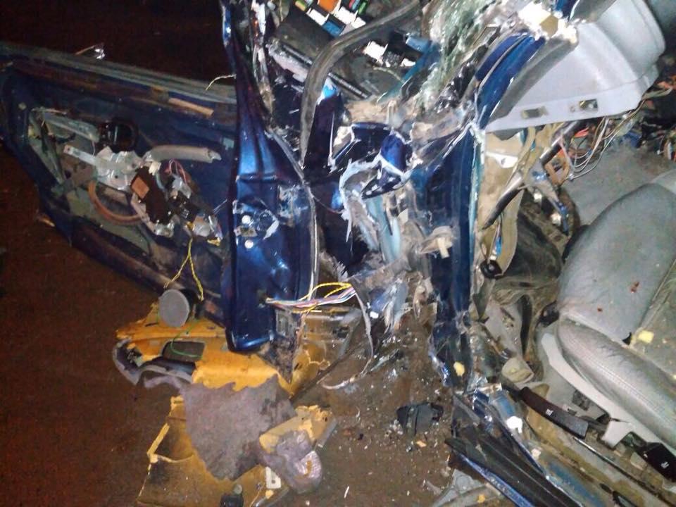 На Волыни пьяный полицейский устроил аварию и скрылся с места ДТП, есть погибший