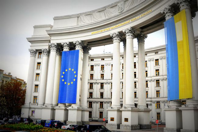 МЗС, Україна, Євросоюз