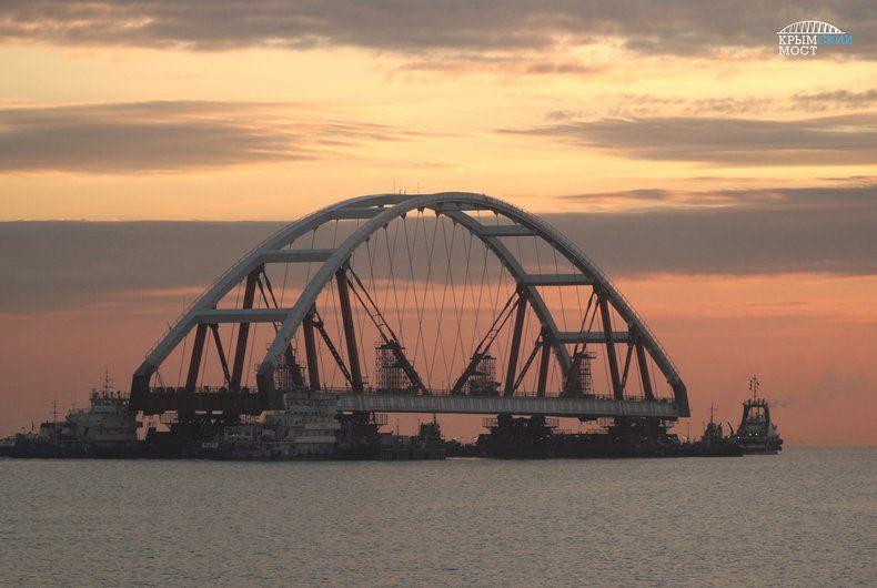 Проект Крымского моста снова подорожает