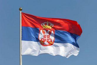 Сербия, флаг
