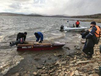 В России на озере погибли люди