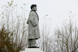 Памятник Владимиру Ленину, иллюстрация