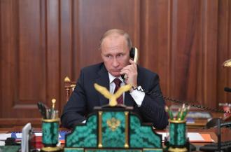 Владимир Путин поговорил с Ангелой Меркель о Донбассе