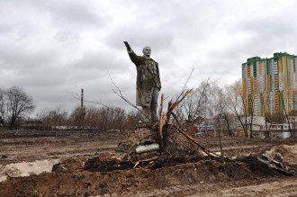 Чудом уцелевший памятник Ленину