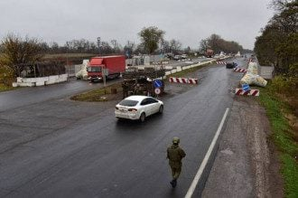Пропускной пункт, силовики, Донбасс