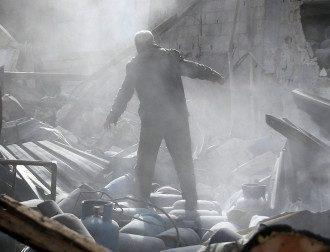 Военные действия в Сирии, иллюстрация.