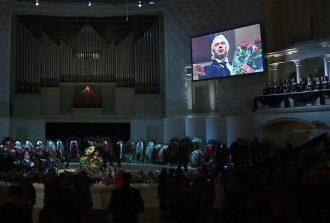 В Москве похоронили Хворостовского
